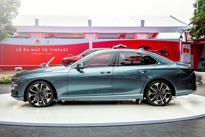 Bảng giá xe VinFast Lux A2.0 lăn bánh tháng 10/2020 - 6