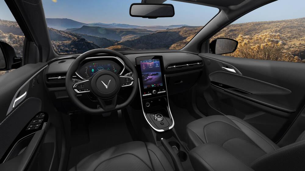 VinFast mở bán ôtô điện đầu tiên, sạc đầy pin đi được 300km Ảnh 6